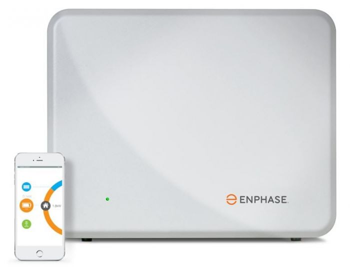 Enphase - AC Battery IQ7-B1200-LN-I-INT (2 off) w/ Envoy-S Metered Gateway